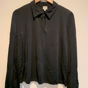 Blouse for a night out? Get the Armani.